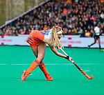 ROTTERDAM - Yibbi Jansen (Ned)   tijdens de Pro League hockeywedstrijd dames, Netherlands v USA (7-1)  ..COPYRIGHT  KOEN SUYK