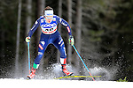 Ilaria Debertolis  competes during the FIS Cross Country Ski World Cup Sprint qualification race in Dobbiaco, Toblach, on December 19, 2015. Credit: Pierre Teyssot