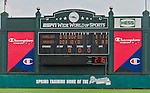 19 March 2015: A new timing clock indicates time between innings and pitches now being tested on the scoreboard during a Spring Training game between the Miami Marlins and the Atlanta Braves at Champion Stadium in the ESPN Wide World of Sports Complex in Kissimmee, Florida. The Braves defeated the Marlins 6-3 in Grapefruit League play. Mandatory Credit: Ed Wolfstein Photo *** RAW (NEF) Image File Available ***