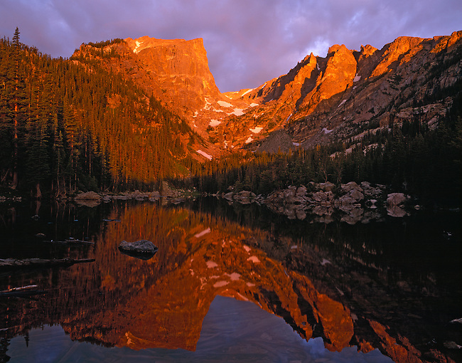 Hallett Peak, Dream Lake, Rocky Mountain National Park, Colorado