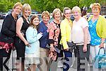 Linda Godley (Ballyheigue) Martina Gaynor (Ardfert) Sasha Godley (Tarbert) Hannah Godley (Ballyheigue) Noreen O'Brien (Abbeydorney) Sarah Shanahan (Abbeydorney) Margaret Shanahan (Abbeydorney) and Breda O'Connor (Castleisland) enjoying the Rose of Tralee fashion show in the Dome on Sunday night.