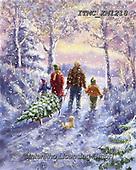 Marcello, CHRISTMAS CHILDREN, WEIHNACHTEN KINDER, NAVIDAD NIÑOS, paintings+++++,ITMCXM1218,#xk# ,playing in snow