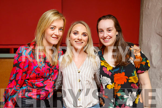 Ciara Stack (Abbeydorney), Megan Dunne (Ardfert) and Aisling Kearney (Tralee) enjoying a night out in Cassidys on Saturday night.