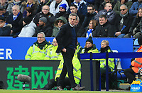 Leicester City Manager Claude Puel during the Premier League match between Leicester City and Manchester United at King Power Stadium on February 3rd 2019 in Leicester, England. (Photo by Leila Coker/phcimages.com)<br /> Foto PHC Images / Insidefoto <br /> ITALY ONLY