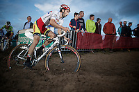British Champion Ian Field (GBR/Hargroves Cycles)<br /> <br /> GP Zonhoven 2014