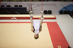 British Gymnastics Championships 2017<br /> The Liverpool Echo Arena<br /> Dex Trivett Barry YMCA Gym Club<br /> 25.03.17<br /> &copy;Steve Pope - Sportingwales