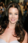 """HOLLYWOOD, CA. - April 30: Rachel Nichols arrives at the Los Angeles premiere of """"Star Trek"""" at the Grauman's Chinese Theater on April 30, 2009 in Hollywood, California.a"""