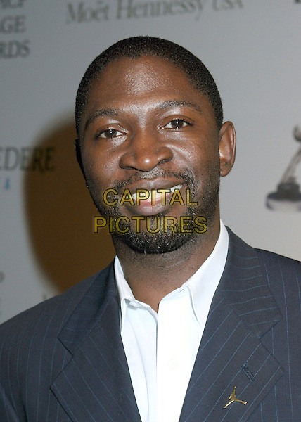 MIKE PHILLIPS.37th NAACP Image Awards Pre-show Gala, Hollywood, California, USA..February 24th, 2006.Photo: Byron Purvis/AdMedia/Capital Pictures.Ref: BP/ADM.headshot portrait beard facial hair.www.capitalpictures.com.sales@capitalpictures.com.© Capital Pictures.