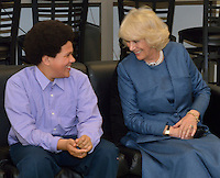 The Duchess of Cornwall, Camilla Parker Bowles, visits Neighborhood House