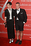 Guest and Thom Browne arrives at The Fashion Group International's Night of Stars 2017 gala at Cipriani Wall Street on October 26, 2017.