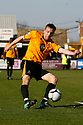 Mark Bentley of Cambridge United (on loan from Gillingham) during the Blue Square Bet Premier match between Cambridge United and York City at the Abbey Stadium, Cambridge on 19th March, 2011.© Kevin Coleman 2011