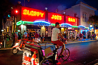 Nightlife along Duval Street, Key West, Florida, USA. Photo by Debi PIttman Wilkey