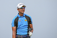 Sadom KAEWKANJANA (THA) watches his tee shot on 6 during Rd 3 of the Asia-Pacific Amateur Championship, Sentosa Golf Club, Singapore. 10/6/2018.<br /> Picture: Golffile | Ken Murray<br /> <br /> <br /> All photo usage must carry mandatory copyright credit (© Golffile | Ken Murray)