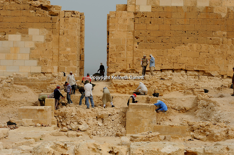 Last Pharaohs MM7836,  Egypt, Taposiris Magna, Temple, Kathleen Martinez, Osiris, Isis, Cleopatra, Marc Antony, excavation