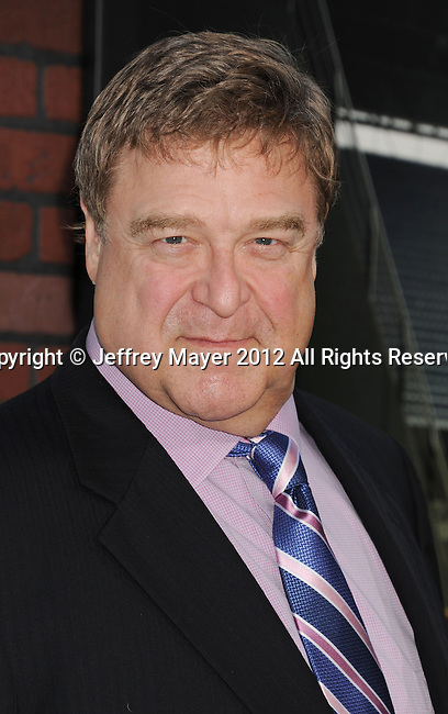 WESTWOOD, CA - SEPTEMBER 19: John Goodman arrives at the 'Trouble With The Curve' at Mann's Village Theatre on September 19, 2012 in Westwood, California.