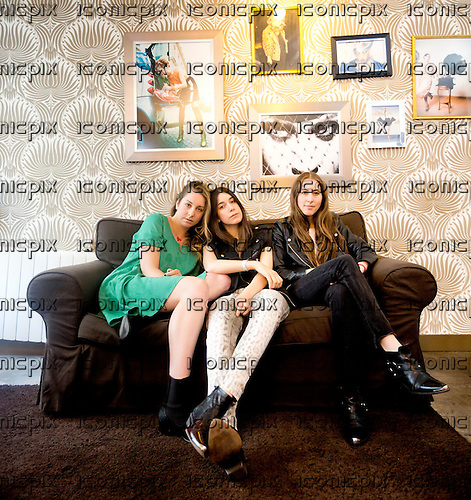 HAIM - L-R: sisters Este, Danielle and Alana Haim - Photosession in Paris France - 02 Jun 2013.  Photo credit: Laurent Wallendorff/Dalle/IconicPix (UK ONLY)