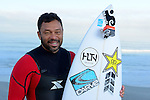 BAJA CALIFORNIA, MEXICO - SEPTEMBER 26:  Surfer Sunny Garcia in action at Baja Malibu Break on September 26, 2014 in Baja California, Mexico. (Photo by Donald Miralle for Xterra)