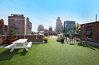 Roof Deck at 300 East 70th Street