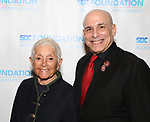 """Pat Birch and Jonathan Cerullo during The """"Mr. Abbott"""" Award 2019 at The Metropolitan Club on 3/25/2019 in New York City."""