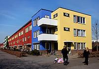 Regenboogbuurt in Almere