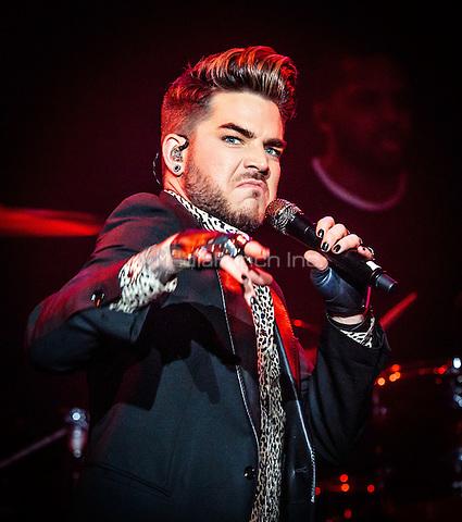 LAS VEGAS, NV - December 5, 2015: ***HOUSE COVERAGE*** Adam Lambert performs at The Joint at Hard Rock Hotel & Casino in Las vegas, NV on December 5, 2015. Credit: Erik Kabik Photography/ MediaPunch