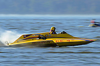 """Mike Yobe, CE-4 """"Pure Canadian"""", (280 class cabover hydroplane)"""