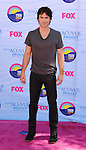 UNIVERSAL CITY, CA - JULY 22: Ian Somerholder arrives at the 2012 Teen Choice Awards at Gibson Amphitheatre on July 22, 2012 in Universal City, California.
