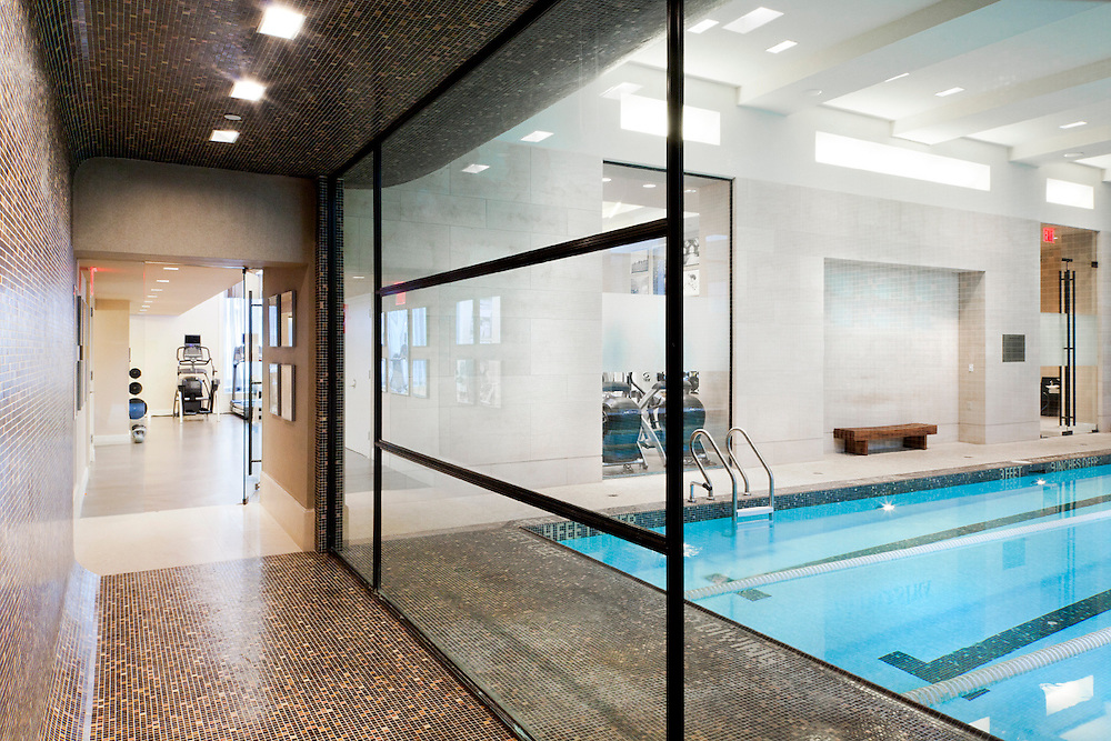 Commercial Gym and Pool