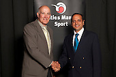Referee Umpire Official finalist Ashley Mehrotra from the Counties Manukau Cricket Association. Counties Manukau Sport Sporting Excellence Awards held at the Telstra Clear Pacific Events Centre Manukau on December 1st 2011.