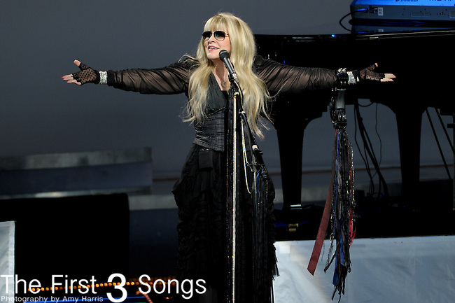 Stevie Nicks performs on July 21, 2012 at Riverbend Music Center in Cincinnati, Ohio.