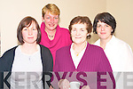 Enjoying the Fossa Seniors Christmas party in the GAA clubhouse on Sunday were Diane Breen, Angela Daly, Margaret Daly and Fiona Whelton.