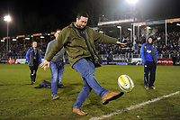 A general view of the half-time kicking competition. Aviva Premiership match, between Bath Rugby and Exeter Chiefs on March 23, 2018 at the Recreation Ground in Bath, England. Photo by: Patrick Khachfe / Onside Images