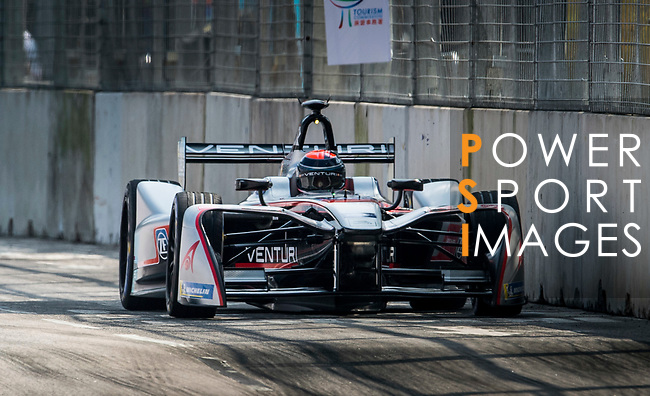 Edoardo Mortara of Switzerland from Venturi Formula E Team competes in the Formula E Qualifying Session 2 during the FIA Formula E Hong Kong E-Prix Round 2 at the Central Harbourfront Circuit on 03 December 2017 in Hong Kong, Hong Kong. Photo by Marcio Rodrigo Machado / Power Sport Images