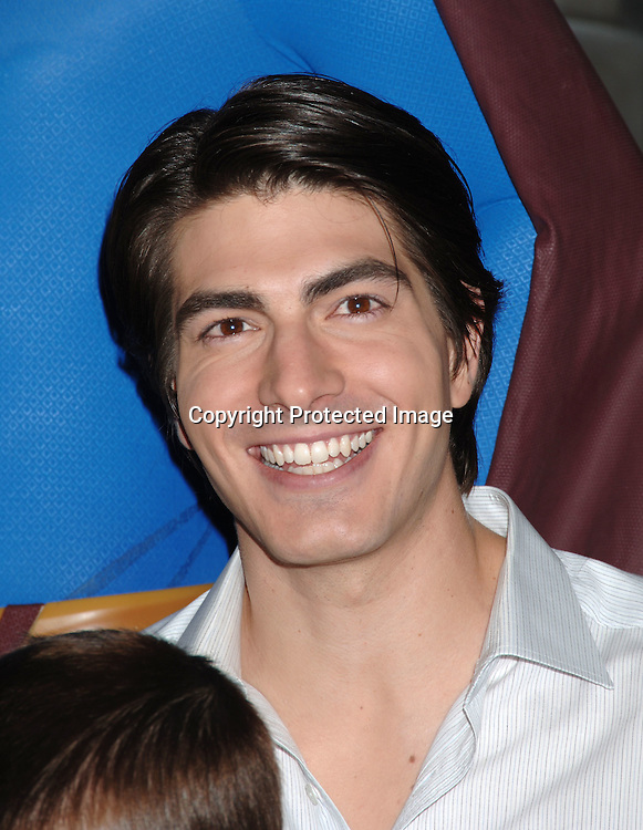 "Brandon Routh ..at Madame Tussaud's Wax Museum to launch wax figure ..of Superman for the new movie ""Superman Returns"" ..on June 27, 2006. ..Robin Platzer, Twin Images"