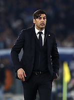 Football, Serie A: AS Roma - S.S. Lazio, Olympic stadium, Rome, January 26, 2020. <br /> Roma's coach Paulo Fonseca speaks to his payers during the Italian Serie A football match between Roma and Lazio at Olympic stadium in Rome, on January,  26, 2020. <br /> UPDATE IMAGES PRESS/Isabella Bonotto
