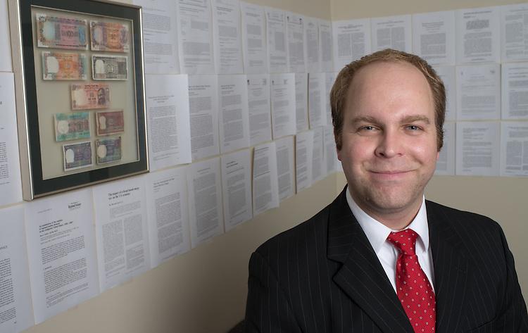 Derick Staufenberg, Economics, Faculty