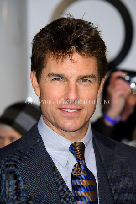 WWW.ACEPIXS.COM....US Sales Only....April 4 2013, London....Tom Cruise at the premiere of 'Oblivion' held at the BFI IMAX on April 4 2013 in London ....By Line: Famous/ACE Pictures......ACE Pictures, Inc...tel: 646 769 0430..Email: info@acepixs.com..www.acepixs.com