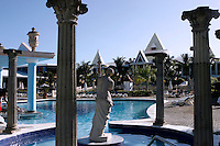 View of part of the pool area at RIU Tropical Bay Resort in Negril,Jamaica. Photo by Errol Anderson.