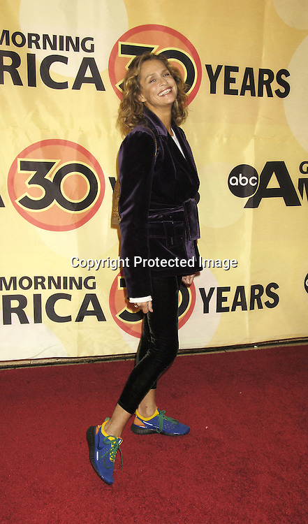 Lauren Hutton ..at the 30th Anniversary Celebration of Good Morning America on October 25, 2005 at Avery Fisher Hall ...Photo by Robin Platzer, Twin Images
