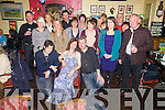 Caroline Kennedy seated front centre from Ballinskelligs celebrated her 50th birthday with family and friends at The Bonnán Buí Bar, Cahersiveen on Saturday night last.