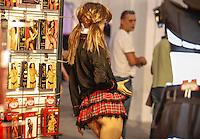 LISBOA, PORTUGAL, 03 DE JUNHO 2012 - SALAO EROTICO DO ATLANTICO - Maniquim durante o Salao Erotico do Atlantico na Fundicao Oeiras em Lisboa, capital de Portugal neste domingo,3  (FOTO: WILLIAM VOLCOV / BRAZIL PHOTO PRESS).