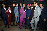 Charlie Carver, Robin de Jesus, Andrew Rannells, Brian Hutchison, Tuc Watkins, Ryan Murphy, Joe Mantello, Michael Benjamin Washington, Zachary Quinto, Matt Bomer attends the 'The Boys In The Band' 50th Anniversary Celebration at The Second Floor NYC on May 30, 2018 in New York City.