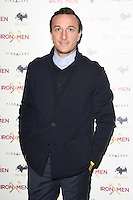"Mark Noble<br /> arrives for the ""Iron Men"" premiere at the Mile End Genesis cinema, London.<br /> <br /> <br /> ©Ash Knotek  D3236  02/03/2017"