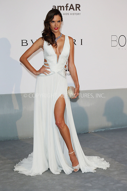 ACEPIXS.COM<br /> <br /> May 21 2014, Cannes<br /> <br /> Alessandra Ambrosio arriving at amfAR's 21st Cinema Against AIDS Gala during the 67th Cannes International Film Festival at Hotel du Cap-Eden-Roc on May 21 2014 in Cap d'Antibes, France<br /> <br /> By Line: Famous/ACE Pictures<br /> <br /> ACE Pictures, Inc.<br /> www.acepixs.com<br /> Email: info@acepixs.com<br /> Tel: 646 769 0430