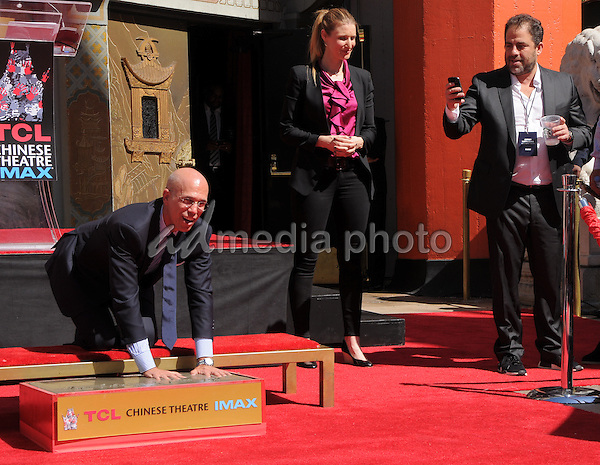 29 September 2016 - Hollywood, California. Jeffrey Katzenberg,  Brett Ratner. Jeffrey Katzenberg Hand And Footprint Ceremony held at The TCL Chinese Theater. Photo Credit: Birdie Thompson/AdMedia