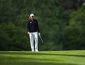 19.05.2015. Wentworth, England. BMW PGA Golf Championship. Practice Day. Johan Carlsson on the 17th green during the practice round of the 2015 BMW PGA Championship from The West Course Wentworth Golf Club