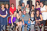 Suprise - Stevie Hayes from Ballyduff, seated centre having a wonderful time surrounded by ladies at his suprise 40th birthday party held in Lowe's Bar, Ballyduff on Friday night. Seated l/r Shauna Ross, Sarah Ross, Stevie Hayes, Lara O'Rourke and Laura Ross, standing l/r Karen Browne, Kathleen O'Sullivan, Marian O'Halloran, Phylis Supple, Mag Ross, Samina Ali, Margie O'Rourke, Michelle O'Rourke and Dee Ross.