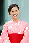 Anne Nakamura, <br /> JULY 24, 2017 : <br /> Event for Tokyo 2020 Olympic and Paralympic games is held <br /> at Toranomon hills in Tokyo, Japan. <br /> &quot;TOKYO GORIN ONDO&quot; will be renewed as &quot;TOKYO GORIN ONDO - 2020 -&quot;.<br /> (Photo by Yohei Osada/AFLO SPORT)