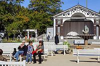 Kurpark in Boltenhagen, Mecklenburg-Vorpommern, Deutschland