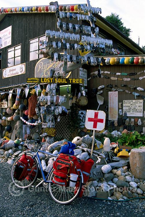 Queen Charlotte Islands (Haida Gwaii), Northern BC, British Columbia, Canada - Gift Shop / Art Gallery / Coffee House in Queen Charlotte City, Graham Island
